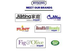 Meet Rysons brands