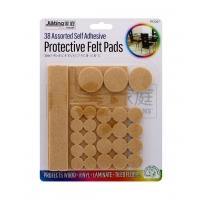 JIATING PROTECTIVE FELT PADS 38 ASSORTED SELF ADHESIVE