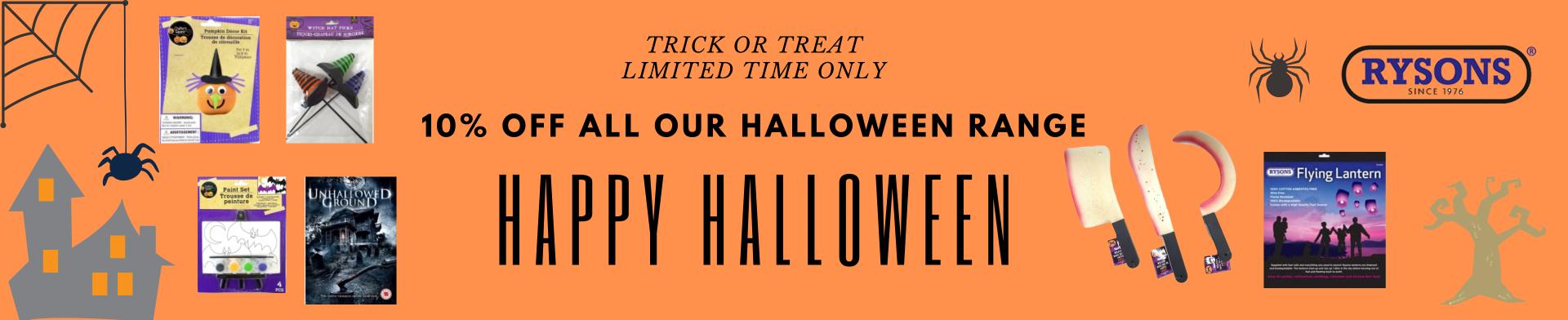 Rysons Halloween Rnage