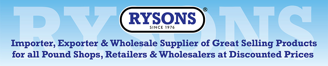 Rysons International Group wholesaler & pound shop supplier