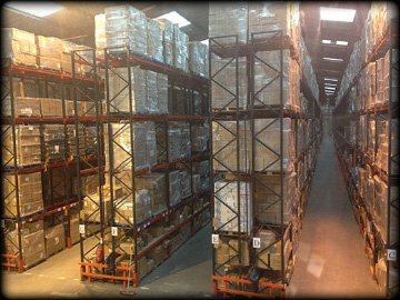 Rysons International Group warehouse